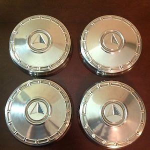 Vtg 50s 60s Plymouth Dodge Dogdish Hubcaps Dart Charger Duster Coronet GTX Mopar