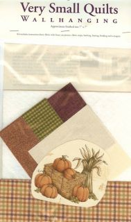 Mini Quilt Kit Fall Autumn Harvest Bounty 1