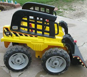 Fisher Price Power Wheels Cat Caterpillar Bobcat Skid Tough Loader Tractor Parts