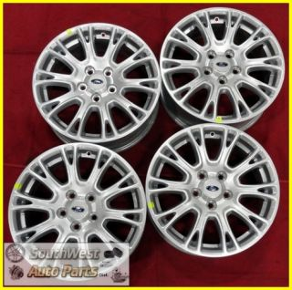 "2012 12 Ford Focus 16"" Silver 10 Spoke Wheels New Take Off Set Rims 3881"