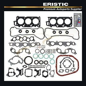 "1999 2003 Lexus Toyota Avalon Camry Sienna 3 0L Engine Full Gasket Set ""1MZFE"""