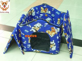 New Softwarm Indoor Pet Dog Cat House Tent Collapsible