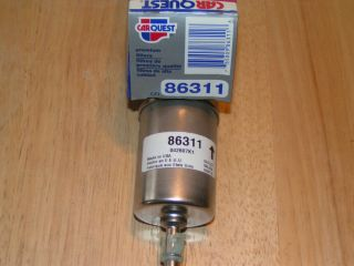 CarQuest 86311 Fuel Filter Chevrolet GMC Buick Oldsmobile Pontiac Cadillac Chevy