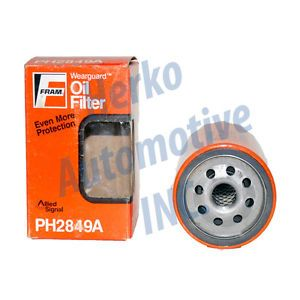 New Fram Oil Filter for PH2849A Ford Mazda Mercury Peugeot 70 90