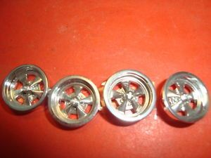 1 25 Scale Model Car Parts Set of Mag Wheels