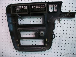 Ford Aerostar Mini Van Minivan Interior Dash Center Finish Panel Radio Bezel