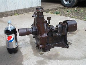 Nice RARE Fairbanks Belt Driven Water Pump Hit Miss Gas Engine L K