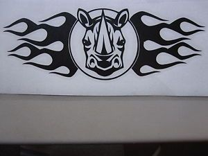 Yamaha Rhino Vinyl Decal Sticker