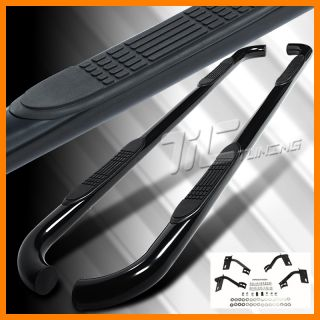 09 11 Ford F150 Super Crew Cab Pickup Side Step Nerf Bar Black Running Board Set