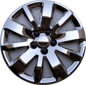 "2011 2012 Cruze 16"" Premium Chrome Wheel Covers Hubcaps Bolt on Set of Four"