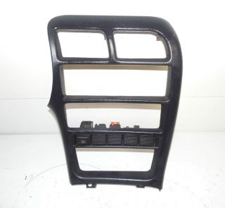 93 97 Ford Probe Radio Climate Control Bezel Trim Panel w Switch