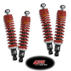 4 Yamaha Rhino Heavy Duty 425 Progressive Suspension Coil Over Shocks ft RR