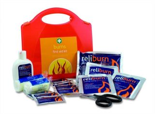 REL124 Reliance Burns First Aid Kit in Red Aura Standard Box