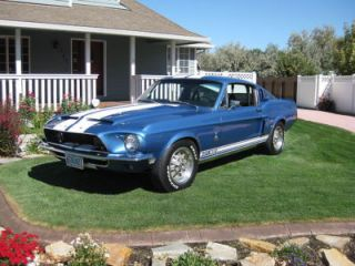 1968 Ford Shelby Cobra GT500 Fastback 1 of 6 RARE Look