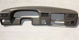 1999 2004 Ford F250 F350 Super Duty Gray Dash Bezel Surround Radio Gauge Trim