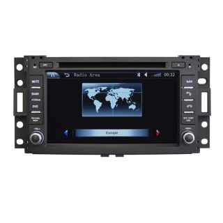 Car GPS Navigation Double DIN TFT TV DVD Player Radio for 2006 09 Hummer H3