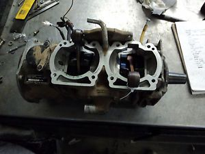 95 Skidoo Summit 670 Crankcase Crank Shaft Bottom End Engine Motor S223