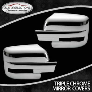 2009 2012 Ford F150 Chrome Mirror Cover Set Full