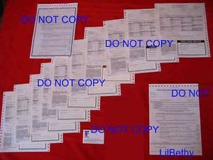 Lot Fhwa Dot Federal Inspection Forms Stickers Decals Semi Truck Trailers Dumps