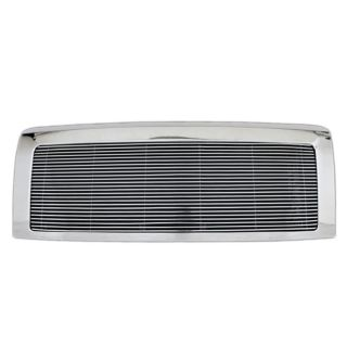 Fit 2009 2012 Ford F150 Chrome 4mm Aluminum Horizontal Billet Packaged Grille
