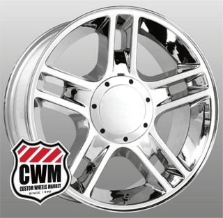 "20x9"" Ford Harley Hauler F150 Replica Chrome Wheels Rims 5x135 mm 14 Offset"