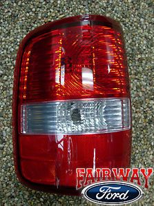 New Style 04 05 F 150 F150 Genuine Ford Parts Left Driver Tail Lamp Light