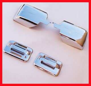 04 08 F150 Chrome Door Handle Tailgate Mirror Covers KP