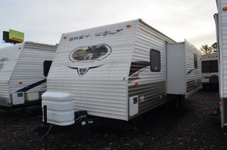 Used 2010 Forest River Cherokee Grey Wolf Super Lite 26K Travel Trailer for Sale