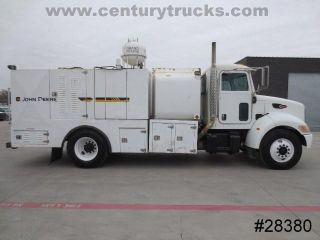 335 Cat C7 Diesel 16' Service Utility Mobile Fuel and Lube Truck 8 Tanks Pumps