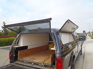 Ford Are Leer Shell camper Utility Snugtop Glasstite 1999 Utility Tool Long Bed