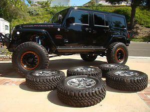 Jeep Wrangler Rubicon Wheels Tires 2014 Unlimited