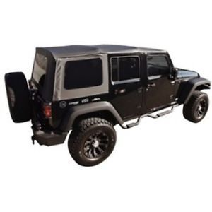 Rampage Factory Replacement Soft Top 07 09 Jeep Wrangler JK Unlimited 99835