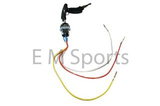 E Electric Scooter Moped Bike Keys Ignition Set Parts 3 Wire Version