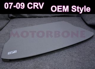 07 09 Honda CRV Rear Back Trunk Cargo Cover Shelf Board Grey Foldable Shielding