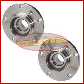 2 New Front Wheel Bearing Hub Assembly with ABS