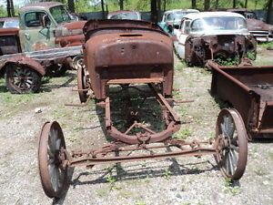 1926 1927 Ford Model T Touring Car Antique Hot Rat Rod Restore Project Parts Car