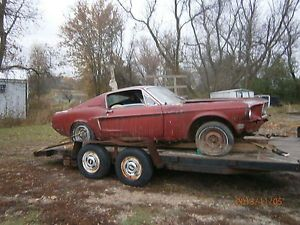 1968 Ford Mustang Fastback Parts Car