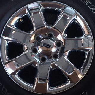 "Ford F150 or Expedition 18"" Rim 2013 2014 Chrome Clad Wheel 3915"
