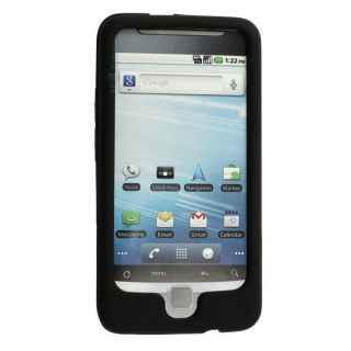 T Mobile Gel Skin Shell for HTC G2 Black Case Protective Silicone Cover New USA