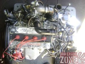 JDM 86 89 Toyota MR2 II Supercharged Engine Motor 5 Speed Trans ECU 4AGZE