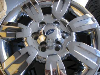 "4 18"" Ford OE F150 Chrome Alloy Wheels 2004 2012 Genuine Rims Expedition"