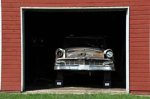 1956 Ford Town Sedan Parts Car 56 Car in A Barn