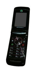 Motorola V9x RAZR 2 at T Flip Bluetooth Camera Java PTT GPS Phone Black Used