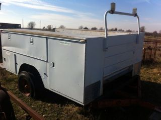 Knapheide Utility Service Truck Bed for Ton Chassis