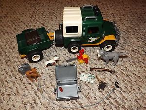 Playmobil Rescue Jeep Truck 4206 with Accessories
