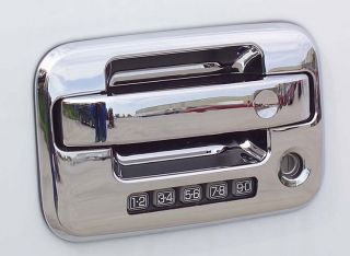 New Putco Chrome Door Handle Covers Fits 2004 2012 Ford F150 2 Door