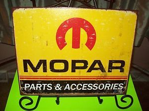 Tin Sign Mopar Dodge Emblem Logo Car Truck Garage Art Parts Accessories 1315