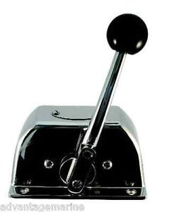 Marpac Marine Single Lever Boat Control Box Stainless Steel New 7 0114