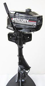 Mercury 2 2HP Outboard Boat Motor 2 Stroke 2HP Mercury Marine Engine