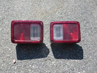 2007 to 2012 Jeep Wrangler Unlimited Rear Tail Lights Left Right LR RR